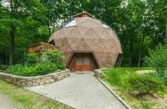 Cheaper to Build than Traditional Houses  also save you on building materials, making them cheaper to build. Think of it like a soap bubble. Less surface area equals less lumber— which is cheaper for you all around. - dome_home_kit