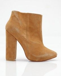 camel ankle boots.