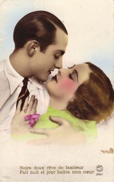 vintage everyday: Vintage Romance Postcards of the 1920s - 3
