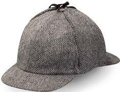 """""""Sherlock"""" Deerstalker Hat at BBC Shop"""