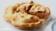 Pear-Lemon Pie with a Pâte Brisée Crust - From the Test Kitchen