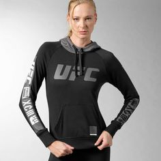 UFC Fan Full Zip Hoodie - Black (L)