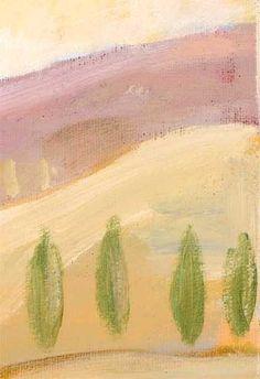 "Charles Kaufman Original Art: Women Paintings - ""Six Women, One Bottle of Wine, No Glasses."""