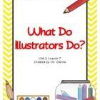 Journeys Third Grade What Do Illustrators Do?