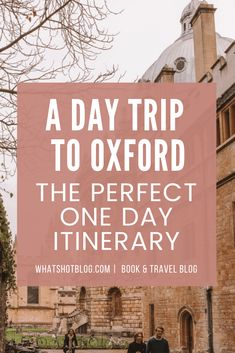 A day trip to Oxford is just enough time to see the best of this beautiful city. This Oxford day trip itinerary includes all the best things to do in Oxford including where to eat, what to see and what to do. Add Oxford to your UK bucket list! Uk Bucket List, Harry Potter Filming Locations, Oxford City, Literary Travel, Day Trips From London, London Travel, Travel Europe, Travel Guides, Travel Tips