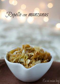 Repollo con manzanas navideño / Cabbage with apples | En mi cocina hoy
