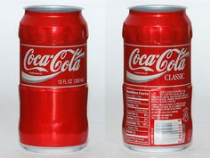 1996 Coca Cola Classic contour TEST can from the USA
