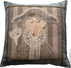 Душка-подушка - подушка декоративная,подушка на диван,свадебный подарок
