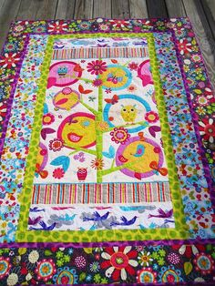 Fly Away Quilt this is a really easy quilt