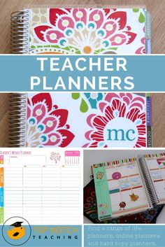 Here you'll find some of the best teacher planners; some are great if you have a classroom role and others are better if you have a bit of a mixed role. Teacher Binder, Teacher Tools, Teacher Hacks, Teacher Resources, Teacher Stuff, Best Teacher Planner, Teacher Calendar, Teacher Lesson Planner, Teachers Toolbox