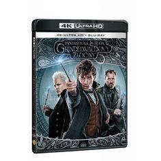 Blu-ray Fantastická zvířata: Grindelwaldovi zločiny, UHD + BD, CZ dabing | Elpéčko - Predaj vinylových LP platní, hudobných CD a Blu-ray filmov Blues, Polaroid Film, Fantasy, Fantasia
