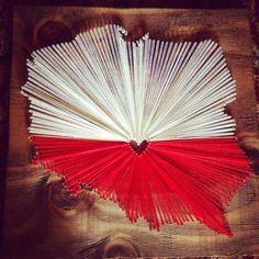 15x15 I Love Poland flag by nidification on Etsy