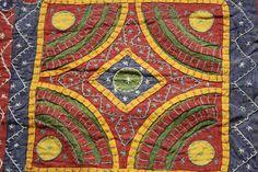 Tagesdecke Bettüberwurf bestickt inkl. 2 Kissen Baumwolle Orient Indien ethno | eBay
