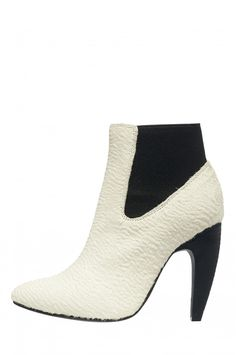 Jeffrey Campbell Shoes CALZINO-F Shop All in Ivory Black Combo