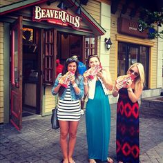 What to do when you find yourself at Blue Mountain resort? Eat BeaverTails pastries!  Photo by ashley_l_parks