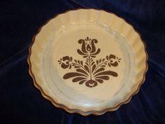 Vintage Pfaltzgraff Stoneware 9 Quiche Pan Pie Pan by Cherylfound, $12.00