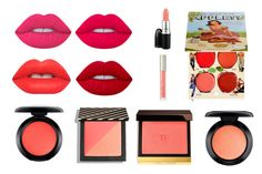 """usta"" by martyna10146 on Polyvore featuring uroda, Lime Crime, MAC Cosmetics, Tom Ford, TheBalm i Ilia"