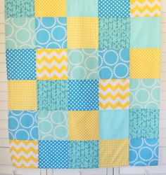 Baby boy's quilt from Etsy