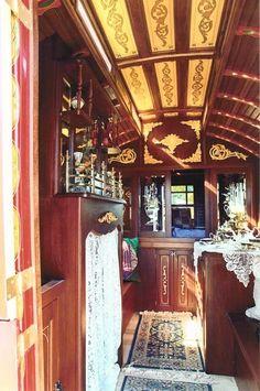 Inside a gypsy caravan... dreamy! by freida