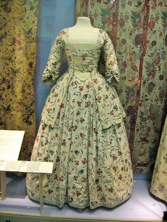 Mid-18th century gown