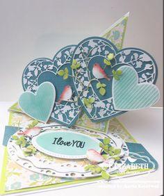 Anita Kejriwal: SWEET HEARTS WITH ELIZABETH CRAFT DESIGNS