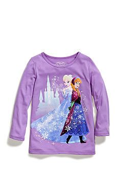 Disney� Frozen Elsa and Anna Tee Girls 4-6x