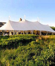 pretty party tent.