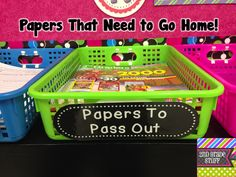 2nd Grade Stuff: Avoid Stacks of Papers - ORGANIZE!  (If only I had a classroom large enough for this!!!!! Love It!!!!! Love It!!!