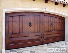 Mediterranean Garage Doors | Custom Handcrafted Architectural Overhead Doors mediterranean garage doors....can pass for mexican