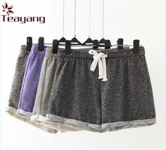 7 Colors Hot Sale European Style Women Shorts Causal Home Short Women's Fitness workout Shorts
