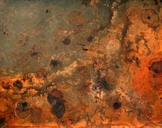SET: Color, pattern, shape, and TEXTURE!    http://upload.wikimedia.org/wikipedia/commons/b/bb/Rust_and_dirt.jpg
