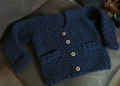 """Ravelry: Project Gallery for b21-11 """"Checco's Dream"""" - Jacket in seed st in """"Merino Extra Fine"""" pattern by DROPS design"""