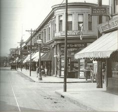 OLD NEW BEDFORD... Acushnet Ave & Coggeshall Street in the 1920s Local History, Family History, Bedford Massachusetts, Northern Girls, New Bedford, Dartmouth, Back In Time, Far Away, Old And New