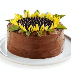 cake decor sunflower-ASK  CHELSEY TO MAKE FOR ME!