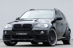 Hamann BMW-X5 Wide Body Areo styling Front Bumper Carbon Bonnet Front and Rear Fenders