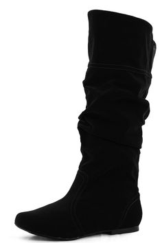 Soft and smooth velvet material, Zipper pull up slip on boots. Finish with lightly cushion footbed. Rubber outsole for non-skid purposes. A nice one!