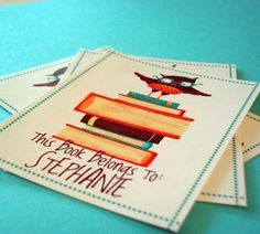 personalized book tags