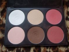 No guess work! Coastal Scents Contour & Blush Palette