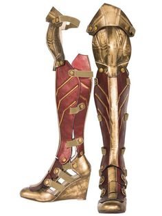 Cosplay Costume Wonder Woman Adult Boot - Product Description Includes one pair of Red Women's Superhero Star Boots with gold stars and a heel. Additional Information Product Number: 807969 Material: Glitter Wonder Woman Cosplay, Wonder Woman Halloween Costume, Wonder Woman Shoes, Wonder Woman Outfit, Superhero Halloween Costumes, Superhero Cosplay, Adult Costumes, White Costumes, Adult Halloween