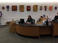 """Art on exhibit at Cascades Library as part of a program called """"Art on Exhibit"""" that feature the art work of Loudoun artists throughout the year."""