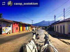 #Follow @caxap_sosteklom: On the streets of #Granada #Nicaragua #ILoveGranada #AmoGranada #Travel #Horse