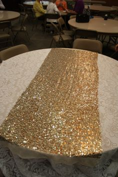 sparkly gold table runner - Google Search