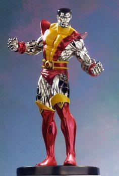 Colossus Super Chrome statue  Sculpted by: Randy Bowen    Release Date: January 2005  Edition Size: 1000  Order Of Release: Phase II (statue #35)