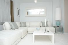 white bedroom grey accents - Google Search