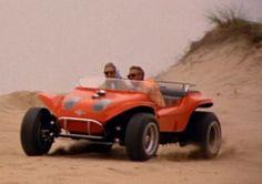 Steve McQueen in his Corvair powered Deserter Buggy