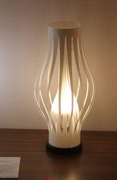 淡光紙のランプシェード:LED仕様耐水和紙加工・暗転時の自発光シェード|ハンドメイド、手作り、手仕事品の通販・販売・購入ならCreema。