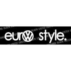 Autocollant Performance Style Auto mur sticker tuning JDM Autocollant Stickerbomb VW 1