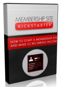 Membership Site Kickstarter Video Upgrade  Video Course On How You Can Easily Set Up A Membership Site To Earn MASSIVE Recurring Payments!  If you want to build a huge profitable online business building your own membership site is one of the best and proven model to be effective for the past several years now.  Submitted: 16 Aug 2016 File Size: 122 MB License: Master Resell Rights  Check Membership Site Kickstarter Video Upgrade at PLR5.COM