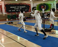 "Congratulations to DFC fencer Jimmy W on earning the bronze medal AND his ""B"" rating in the Div IA men's event at the Midwest ROC/RJCC in Illinois. Very well fenced"