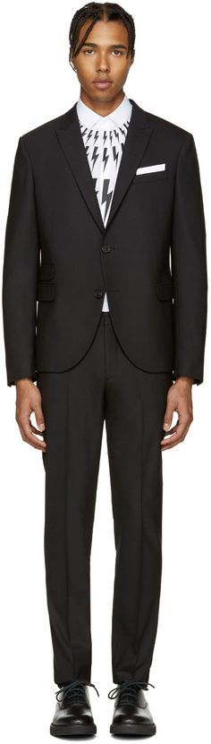 NEIL BARRETT . #neilbarrett #cloth #suit